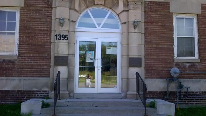New Front Door of Branch
